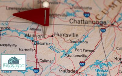 What is Near Windscape Apartments in Madison, Alabama?